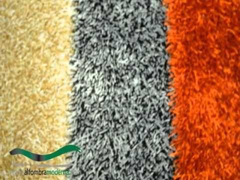 Como bordar una alfombra Animal Print sobre cañamazo - YouTube