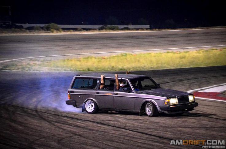 Volvo Wagon Drifting Volvo Custom Pinterest