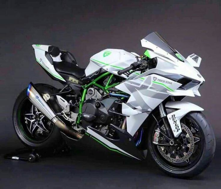 Kawasaki H2R - saw this at EICMA, pretty good looking bike