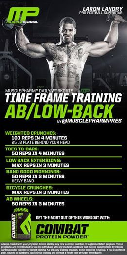 #musclepharm workout