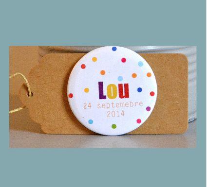 Faire-part naissance original Lou - http://www.fairepartmagnet.com/produit-personnalise/743/fairepartnaissanceoriginallou-3.html