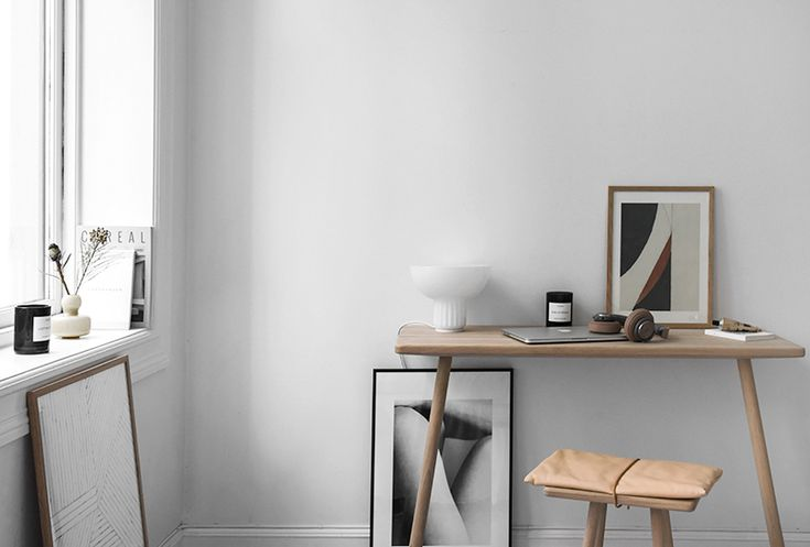 Only Deco Love: Small office in the bedroom