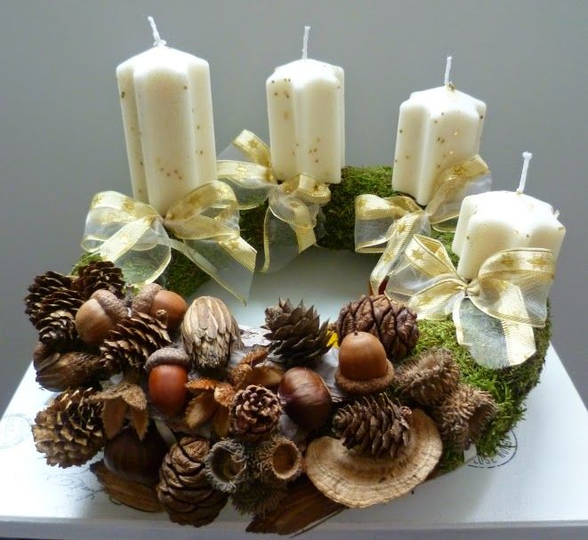 Adventi koszorú - Advent wreath