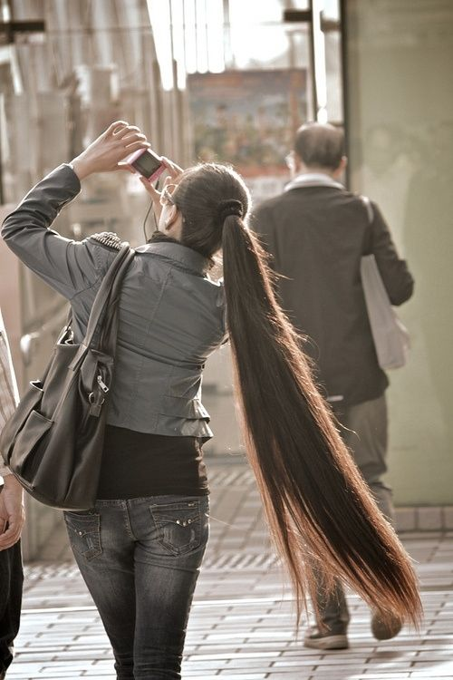 Hairstyles for Super-Long Hair, Think Rapunzel ...                                                                                                                                                                                 More