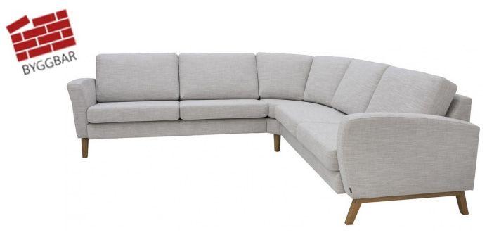 Möbelhuset i Uppsala | Soffor - Sängar - Utemöbler - Matbord m.m - Balance hörnsoffa tyg frånpris