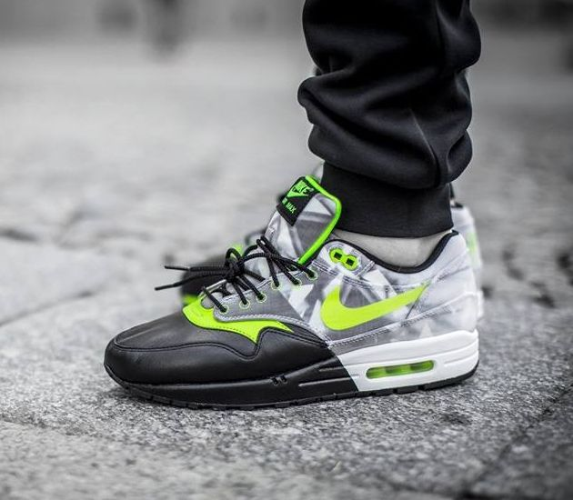 Nike Air Max 1 Premium Black Volt White