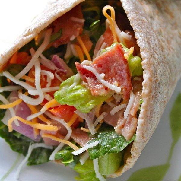 """BLT Wraps I """"These wraps are so easy and delicious. I've made them for a quick dinner as well as for a brunch I hosted. Everyone LOVES them!"""""""