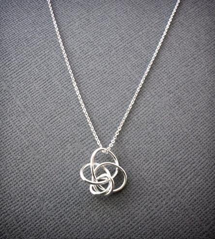 Petite Twist Necklace -Silver | Women's Jewelry | Simple Twist Jewelry | Scoutmob Shoppe | Product Detail