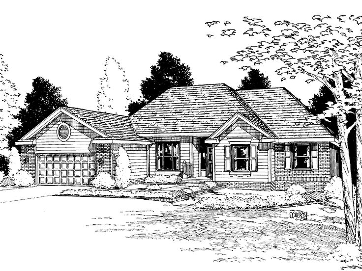 Eplans cottage house plan three bedroom cottage 2117 for Eplans cottage house plan