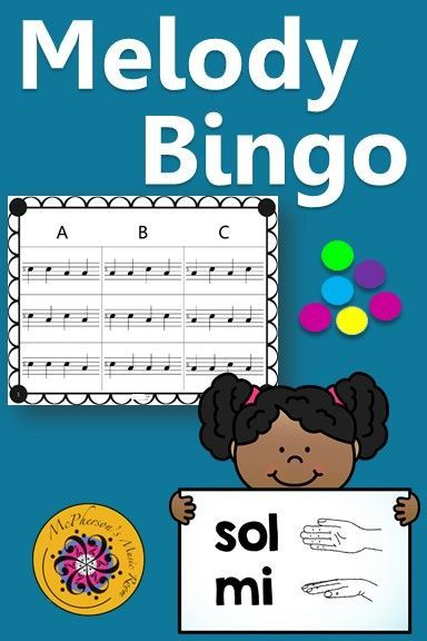 Your elementary music students will love this sol mi bingo game on a 5 line staff. Lots of winners! Use for whole group instruction, centers or with a substitute! Easy activity to add to lesson plan!