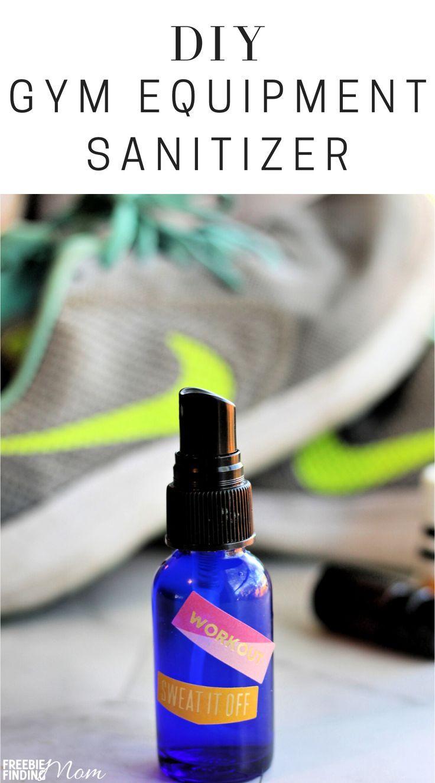 Homemade Sanitizer for Yoga Mat and Exercise Equipment