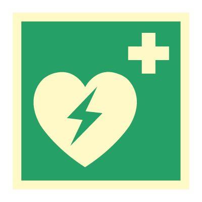 AED Hjertestarter - Kjøp Nødskilt online