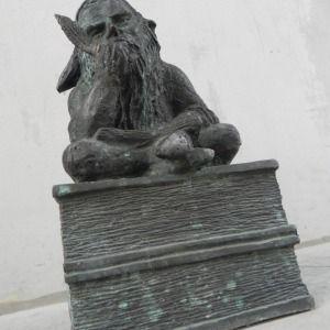 A well educated, scholar gnome - Wrocław, Poland  Wykształciuch - Wybrzeże Wyspiańskiego, Politechnika Wrocławska,…  Wrocław, Polska