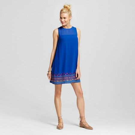 Women's Embroidered Shift Dress - Lots of Love by Speechless (Juniors') : Target