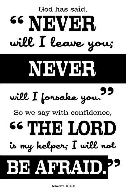 Hebrews 13:5-6 by crystalliora ✦ vesper704, via Flickr