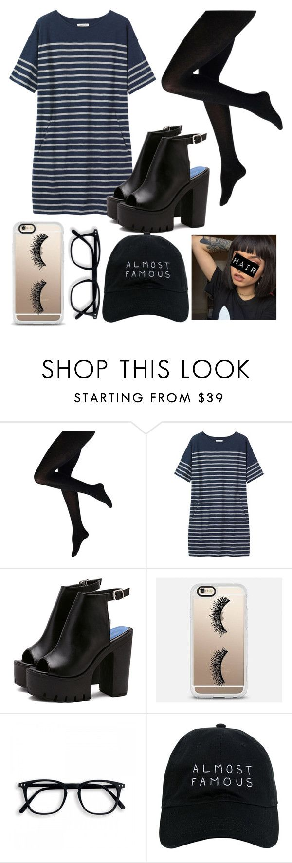 """Tumblr Girl: Strips"" by mollyglueck ❤ liked on Polyvore featuring Toast, Casetify, Nasaseasons, StreetStyle, outfit and polyvorecontest"