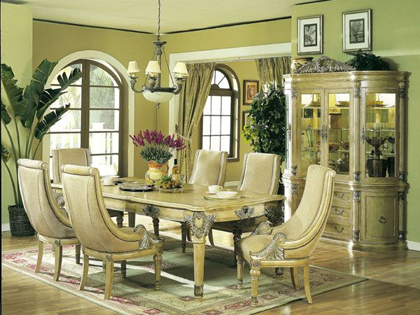 Antique White Dining Room Custom Inspiration Design