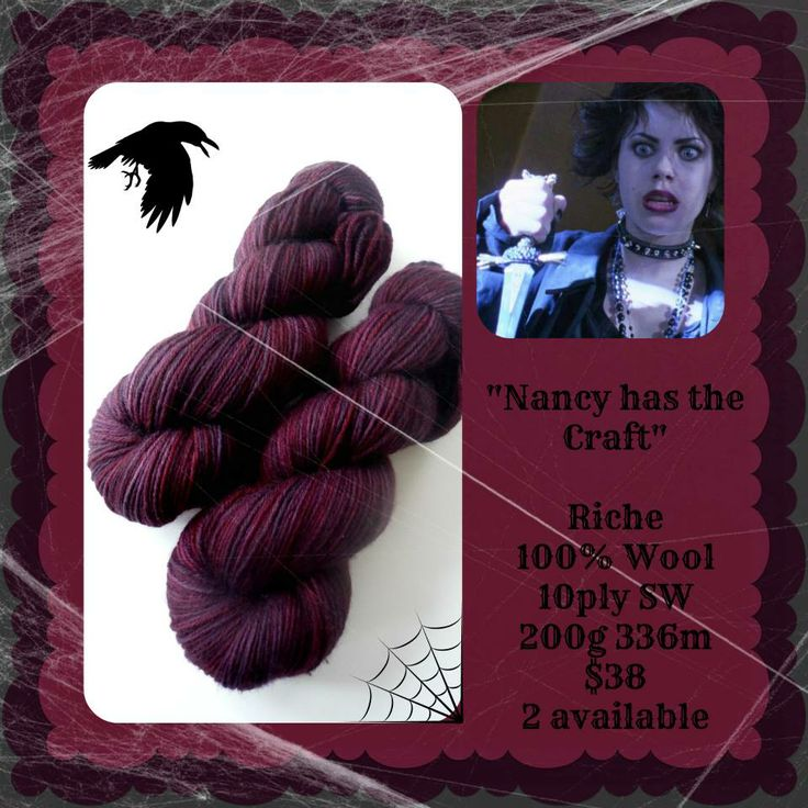Nancy has the Craft - Which Witch? | Red Riding Hood Yarns