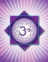 "Crown Chakra: ""Sahasrara""  Location: Top of the head  Color: Violet  Element: Boundlessness  Mantra: none  Meditation: I understand  Affirmations: My soul is boundless and infinite.  Related to: Spiritual illumination, the bliss state  Asana: Yoga mudra, crow, seated yoga mudra  Meditation, mantra"