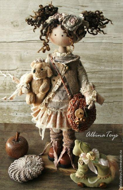 Коллекционные куклы ручной работы. Ярмарка Мастеров - ручная работа По мотивам…