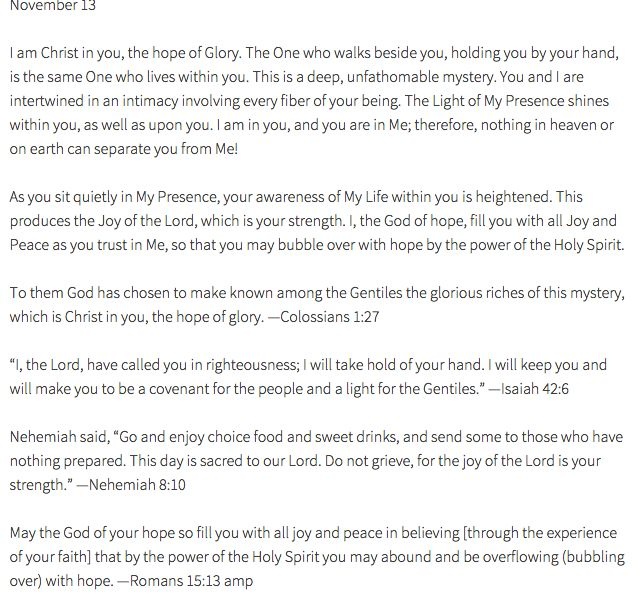 106 best Jesus Calling by Sarah Young images on Pinterest | Jesus ...