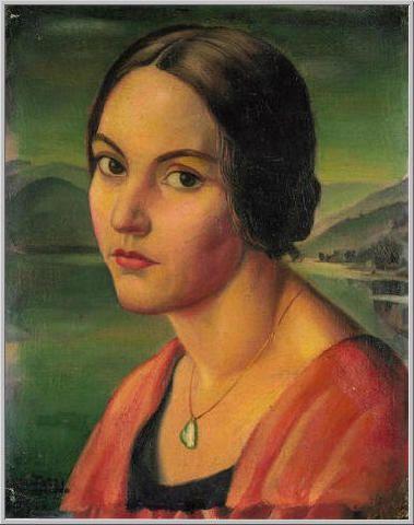 Mario Tozzi: 1920 Ritratto di Marie-Thérèse