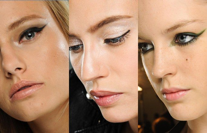Lidstrich in allen Variationen – Make-up Trends 2012: Die Looks für Frühjahr &…