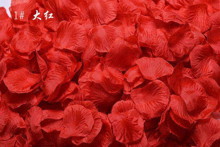 ZYLLGF Bridal 5000pcs/Lot Wedding Petals Wedding Party Decorations Petalas De Rosas Artificial Flowers 16 Colors In Stock RP1