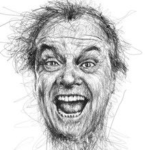 Vince Low Turns Scribbles Into Convincing Celebrity Portraits