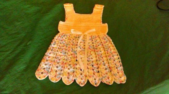vestitino cotone uncinetto vestitino bimba cotone e bottoni,nastro di raso uncinetto