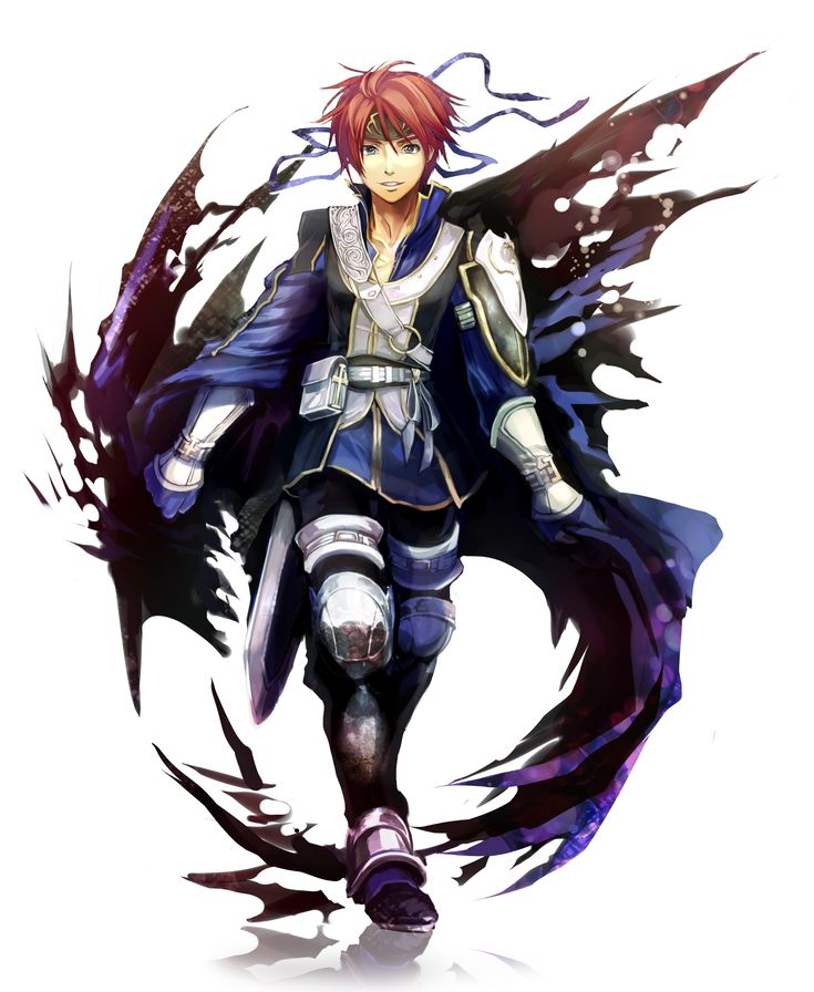 Roy (FE: Sword of Seals) in his DLC art from Fire Emblem Awakening. Really cool look!