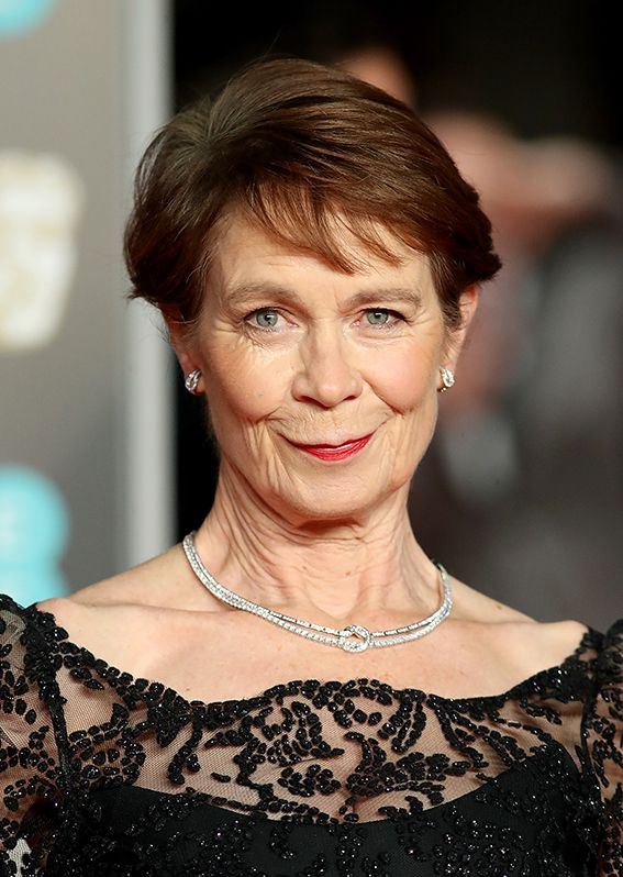 The fabulous Celia Imrie wearing 'The Knot' collection by Boodles at the BAFTA Awards 2018.