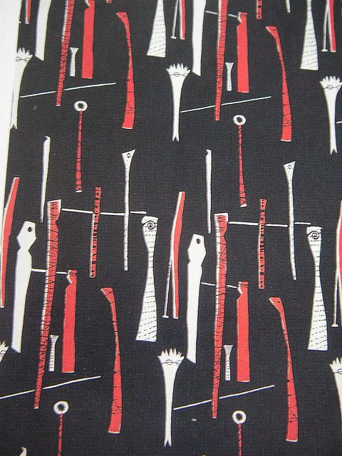 Spectators - Design: Lucienne Day | Flickr - Photo Sharing!