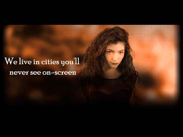 "Lorde NEW SONG!! - ""Team"" - Lyric Video"