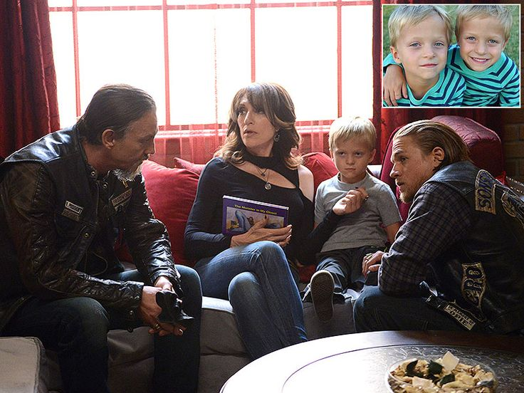 Which Pivotal Role on Sons of Anarchy Requires Two Actors? http://www.people.com/article/jax-son-abel-twins-evan-ryder-londo