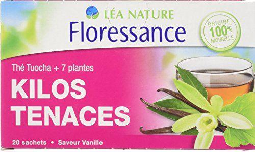 Floressance Phytothérapie Minceur Thé Tuocha + 7 Plantes Kilos Tenaces 20 Sachets Lot de 6: 20 sachets Retrouvez la puissance des plantes…
