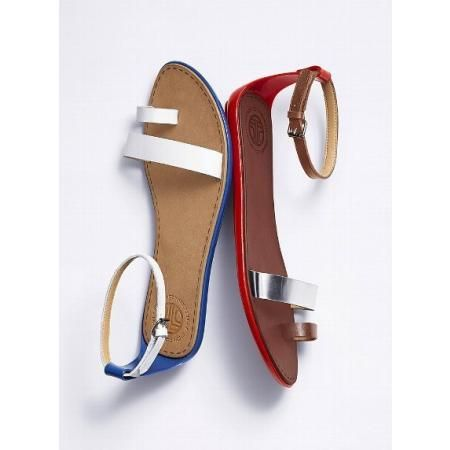 FRENCH CONNECTION TERRI FLAT SANDAL