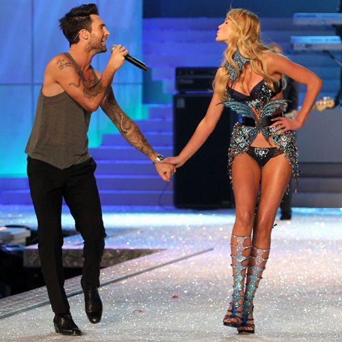 god i love him: Adam Levine, Hot Couple, Victoria Secret, Vs Fashion Shows, Victoria S Secret, Secret Fashion, People, Secret Angels
