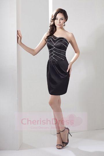 Simple Beading  Little Black Dresses