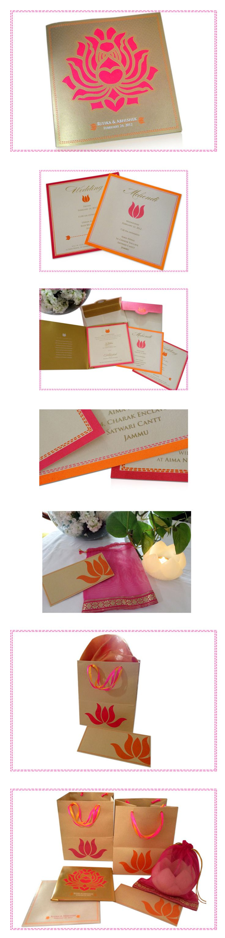 #indian #wedding #invitation