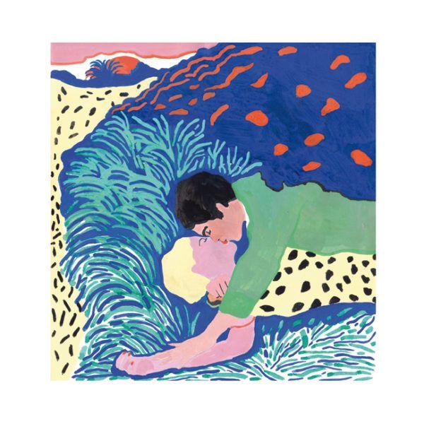 Illustration Love Mélodie Baschet galerie L'illustre Boutique