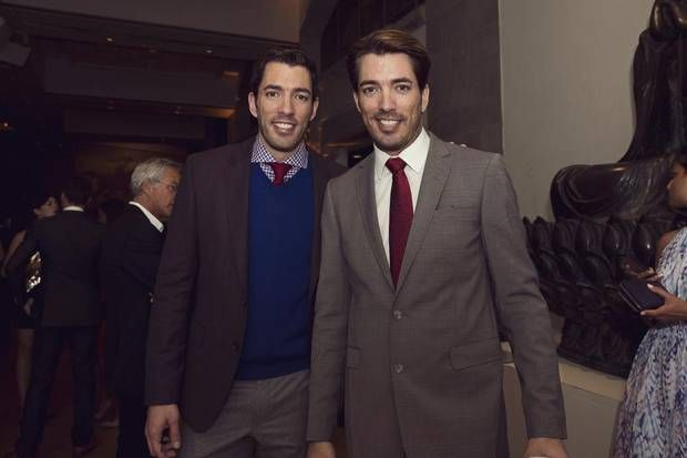 Hosts of the 3rd annual Producers Ball, @MrDrewScott and @MrSilverScott