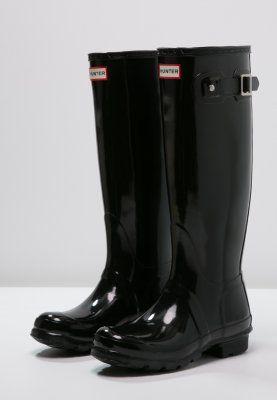 Bestill Hunter Gummistøvler - black (29.11.15) med gratis frakt på Zalando.no