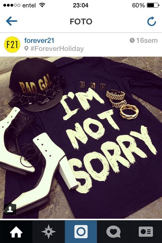 Im not sorry✊