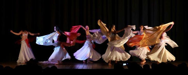Fiori di #primavera allo spettacolo di fine anno delle allieve di Chiara #Aysel