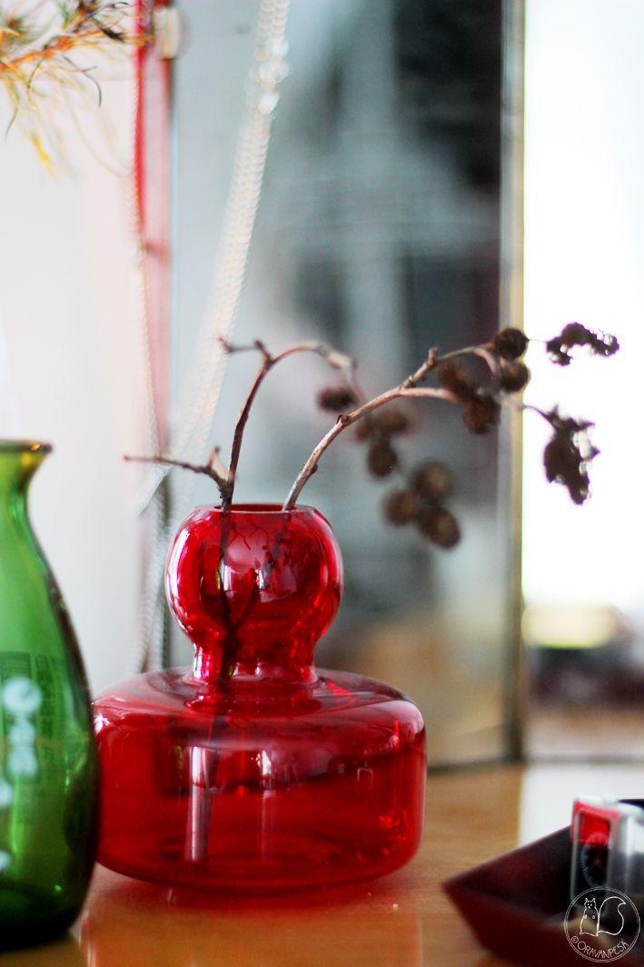 Oravanpesä |Marimekko Flower-maljakko design Carina Seth-Andersson