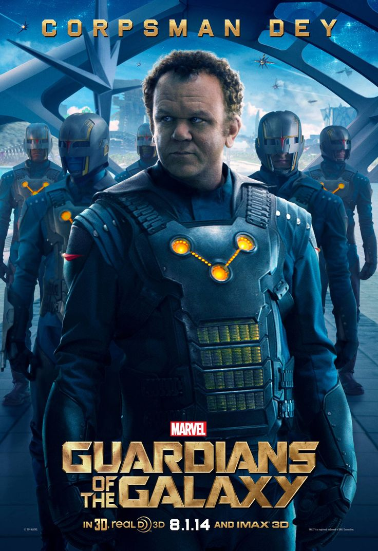 New GUARDIANS OF THE GALAXY Posters For 'Yondu,' 'Rhomann Dey' And 'Nova Prime'