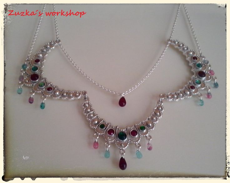 tribal bellydance necklace