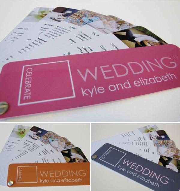 Best Wedding Programs... ever! (Good website for program ideas!)