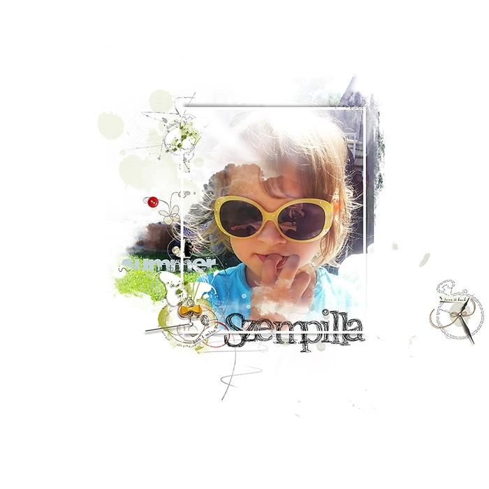 minimalScrap: scrapbook pages